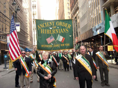 AOH march in NYC St. Patrick's Day Parade in 2009